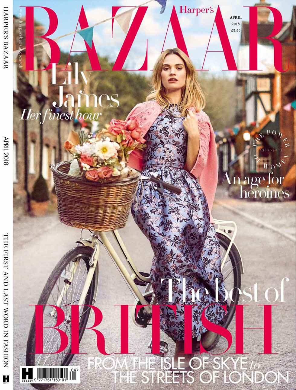 f84058109 HARPER S BAZAAR UK Summer Style in April 18 Issue